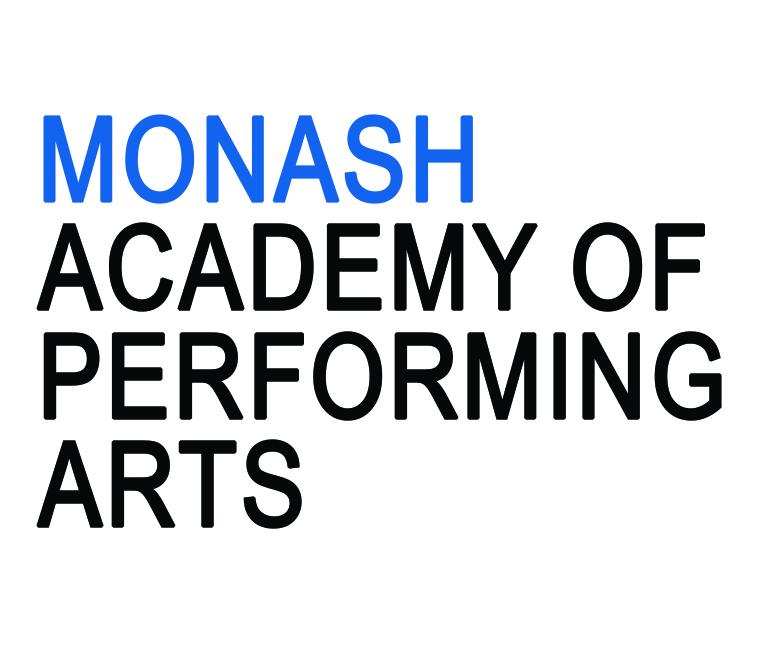 Monash Academy of performing arts logo