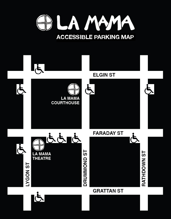 ACCESSIBLE PARKING MAP