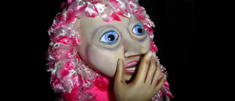 a puppet Princess Pink at the Once Upon A Time Café