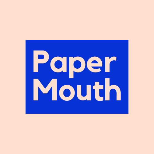 Paper Mouth logo